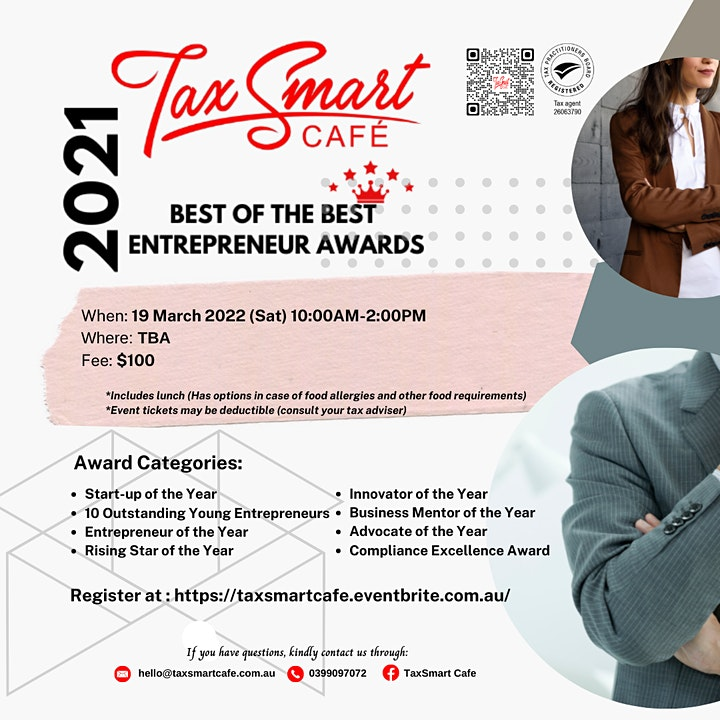 Best of the Best: Entrepreneur Awards Luncheon image