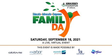 Human Growth Foundation's 8th Annual National Growth Awareness Family Day tickets