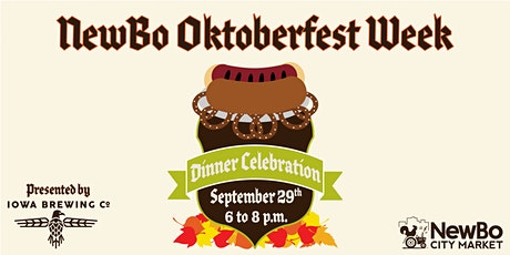 NewBo Oktoberfest 2021: Dinner Celebration–SOLD OUT tickets