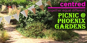centred picnic at The Phoenix Garden