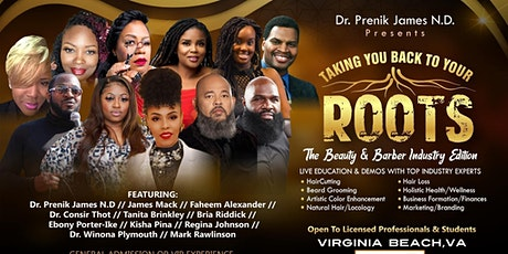 Taking You Back To Your Roots - The Beauty & Barber Industry Edition tickets