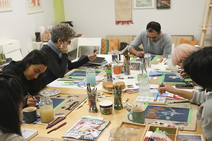 Printmaking Month Pass: It includes THREE workshops! image