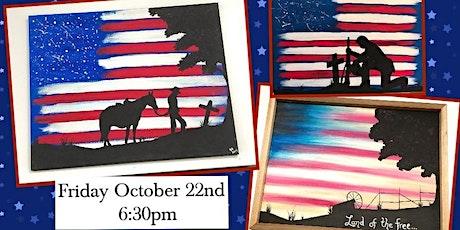 Patriotic Paint Night tickets