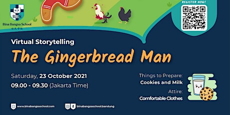 """BBS Kids Community Event """"Story Come Alive : The Gingerbread Man"""" tickets"""