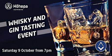 Whisky & Gin Tasting Fundraiser - Hohepa Canterbury tickets