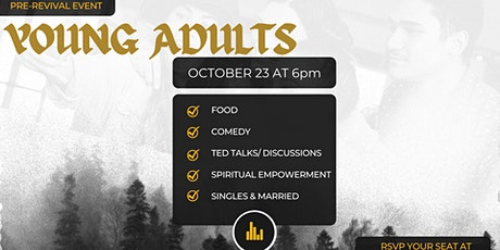 YOUNG ADULTS: TED TALK NIGHT tickets