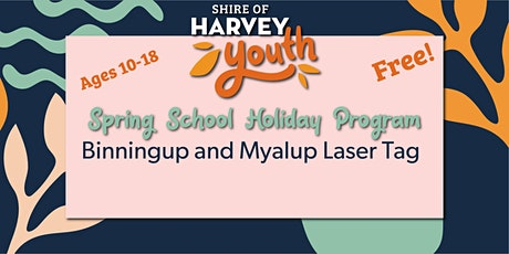 Binningup and Myalup Laser Tag Youth Event tickets