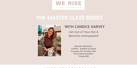 Women in Business Master Class Series October tickets