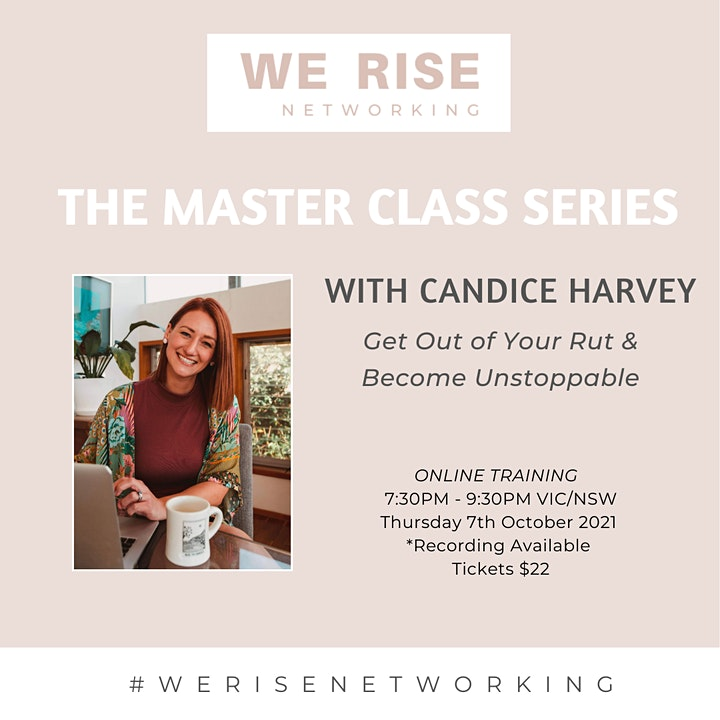 Women in Business Master Class Series October image