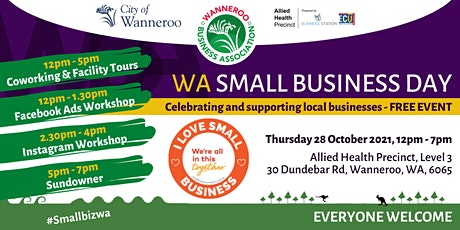 WA Small Business Day Wanneroo tickets