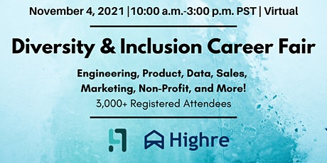 Diversity & Inclusion Career Fair tickets