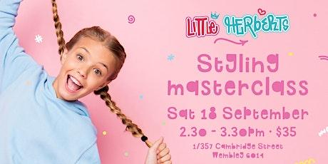 Little Herberts Styling Masterclass 2.30pm tickets