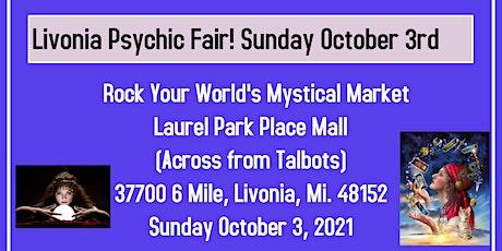 Mini Psychic Fair at Laurel Park Mall in Livonia! tickets