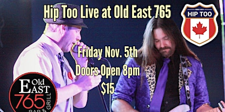 Hip Too live at Old East 765 tickets