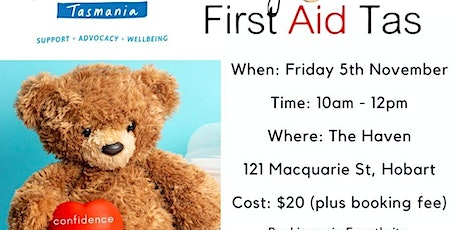 Baby and Child First Aid Tas - The Haven tickets