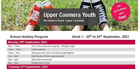 Upper Coomera Youth Free Holiday Program tickets
