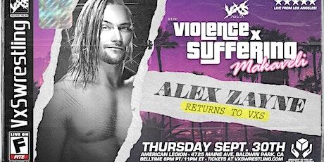 VxS: MAKAVELI (Live Pro-Wrestling in LA!) tickets