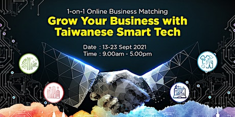 Grow Your Business with Taiwanese Smart Tech tickets