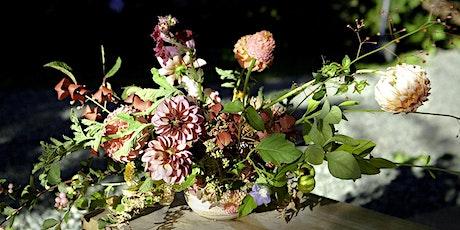 Autumn Abundance: learn how to create a loose, lush and elegant arrangement tickets