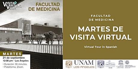 Martes de visita virtual entradas