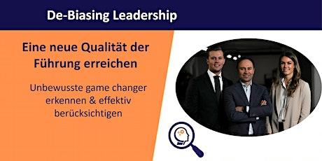 Online-Workshop: De-Biasing Leadership Tickets