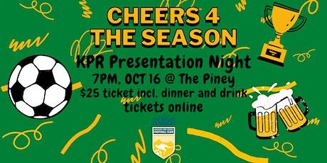 KPR 2021 Presentation Night tickets