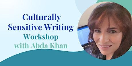 Culturally Sensitive Writing Workshop - 9 October 2021 tickets