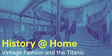 Vintage Fashion and the Titanic tickets