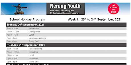 Nerang Youth Free Holiday Program tickets