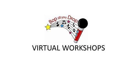Bop Till You Drop VIRTUAL School Holiday Workshops tickets