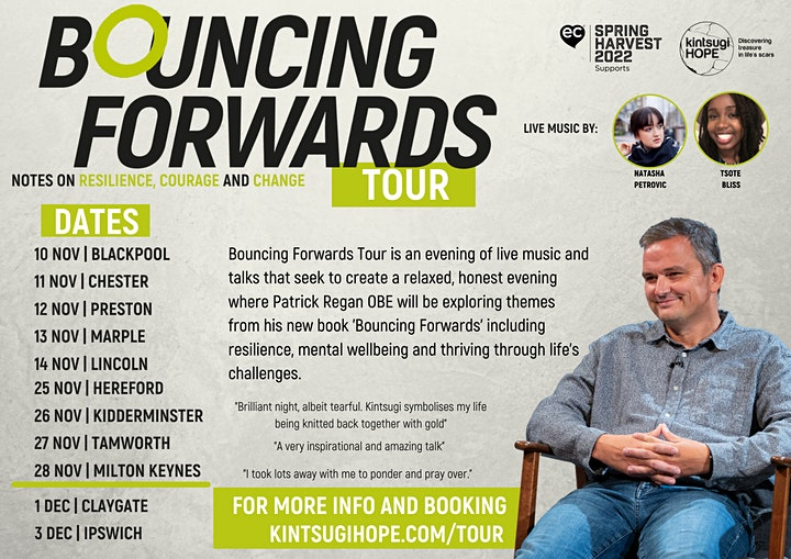 Bouncing Forwards Tour   St Georges Church Glascote image