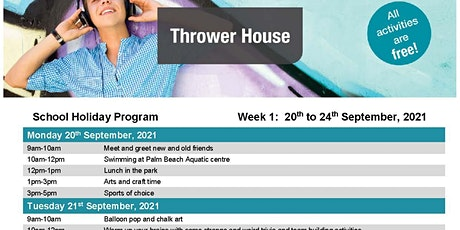 Thrower House Youth Free Holiday Program tickets
