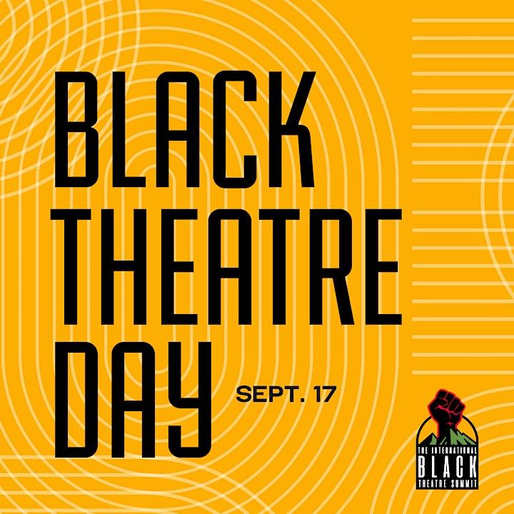Black Theatre Day Virtual Happy Hour image