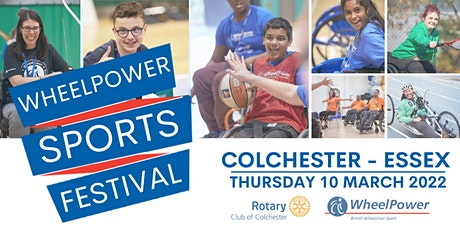 WheelPower Sports Festival - Colchester - Thursday 10 March 2022 tickets