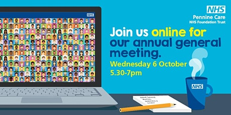 Annual General Meeting, 6 October 2021, 5.30 pm to 7.00 pm tickets
