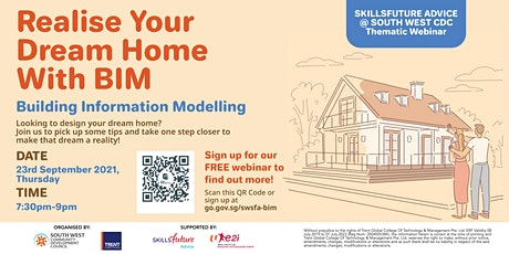 Realise Your Dream Home With BIM tickets