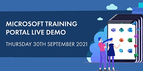 Microsoft Training Portal Live Demo - A Modernised Approach to Learning tickets