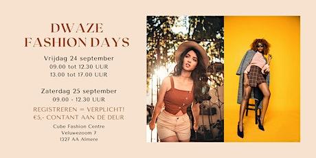 Dwaze Fashion Days tickets