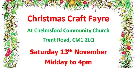CCC Christmas Craft Fayre - free admission ! tickets