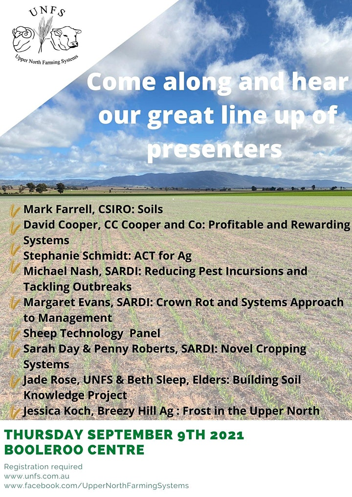 Upper North Farming Systems EXPO 2021 and AGM image