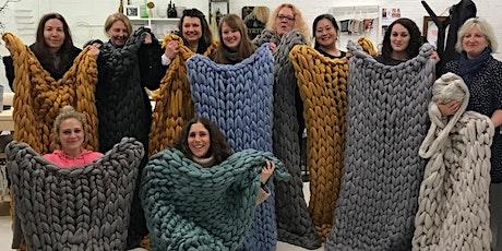 Arm Knitting Blanket Workshop - Hove tickets