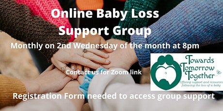 Towards Tomorrow Together Online Baby-Loss Support Group via Zoom tickets