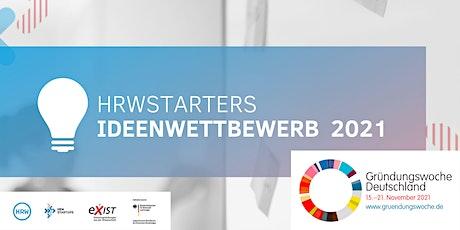 HRWStarters – Ideenwettbewerb 2021 Tickets
