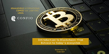 Introduction to Blockchain: from Bitcoin to today's ecosystem tickets
