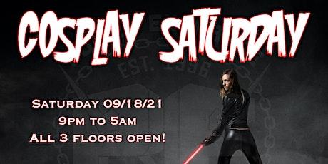 Cosplay Saturday tickets