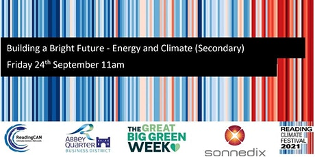Building a Bright Future: Energy and Climate (Secondary) tickets