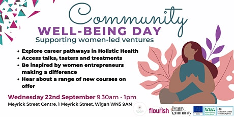 Community Well-being Day - Wigan tickets