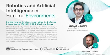 DSMC | PAIDA Working Group | Topic: Robotics and Artificial Intelligence biglietti