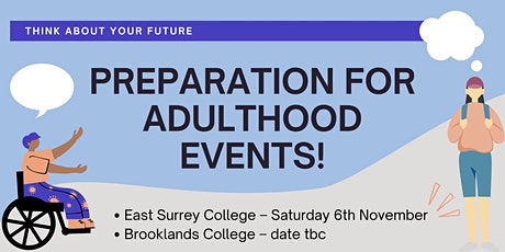 Preparation for Adulthood Event tickets