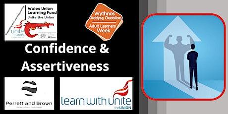 Confidence Building & Assertiveness tickets